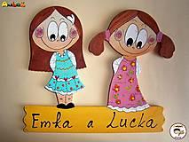 Menovka - dvojica dievčatá
