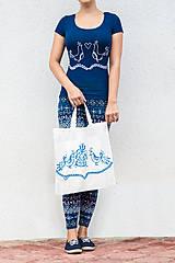 Nákupné tašky - Moja taška - ľudové vtáčiky - 5901832_