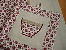Úžitkový textil - Chňapka vo vidieckom štýle - 5899020_