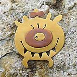 Odznaky/Brošne - Monsterka - 5899455_