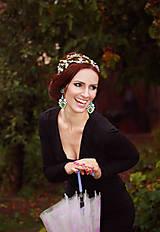 Ozdoby do vlasov - Jemná kvetinová čelenka - 5901764_