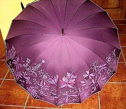 """Iné doplnky - Dáždnik """"Motýle v záhrade"""" - 5899356_"""