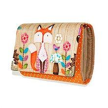 Peňaženky - peněženka Fox 2 13cm - 5900289_