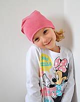 Detské čiapky - detská čiapočka pásik - 5899698_