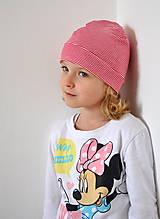 Detské čiapky - detská čiapočka pásik - 5899715_