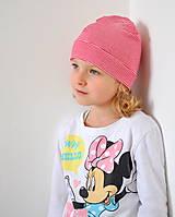 Detské čiapky - detská čiapočka pásik - 5899716_
