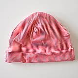 Detské čiapky - detská čiapočka pásik - 5902050_