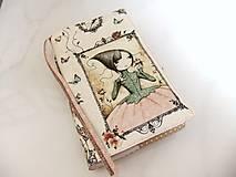 Mirabelle II. - romantický obal na knihu