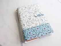 Papiernictvo - Něžně romantičtí ptáčci - obal na knihu - 5901873_
