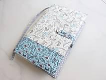 Papiernictvo - Něžně romantičtí ptáčci - obal na knihu - 5901874_