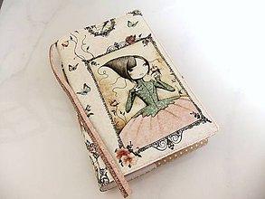 Papiernictvo - Mirabelle II. - romantický obal na knihu - 5901474_