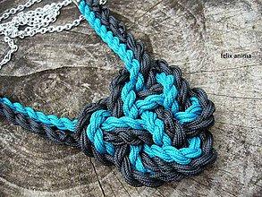Náhrdelníky - Celtic knot heart II - 5900815_