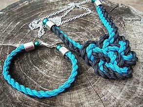 Sady šperkov - Celtic knot heart II - sada - 5900895_