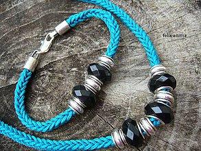 Sady šperkov - Sada ČIERNA PANDORA - 5901094_