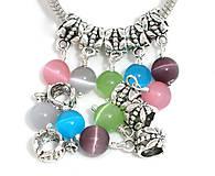 - Pandorkové korálky farebné (balíček 5ks) - 5902062_