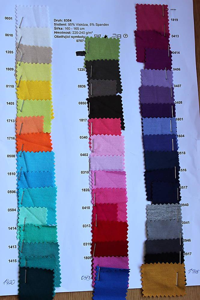 Sukne s řasením v pase vz.307(více barev)