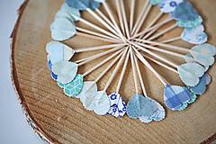 Dekorácie - Napichovátka srdce - svadobná výzdoba - 5905485_