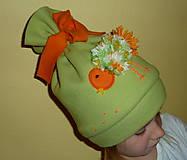 Detské čiapky - Vrabček na hlavičke - 5905394_