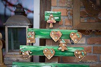 Dekorácie - Motýlikové Vianoce - 5903238_