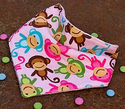 Detské doplnky - Opice pre sestričku - 5906479_