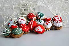 Dekorácie - Vianočne oriešky - 5905709_