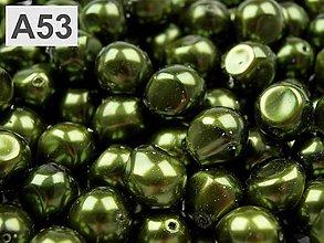 Korálky - Bižutérna voskovaná perla - nugeta - 5905883_