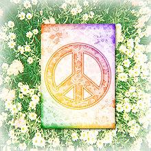 Papiernictvo - Peace zápisník 3 - 5905080_