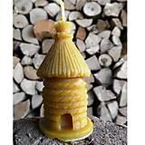Svietidlá a sviečky - Sviečka - slamený úľ - 5910479_