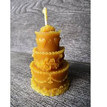 Svietidlá a sviečky - Sviečka - torta - 5910432_
