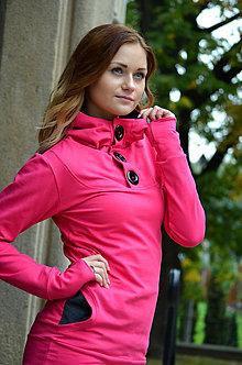 Mikiny - Dlouhá mikina s kapucí - vyberte si svou barvu - 5909474_