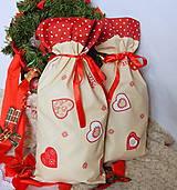Úžitkový textil - Mikulášsky balíček - veľký - 5908050_