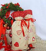 Úžitkový textil - Mikulášsky balíček - veľký - 5908052_