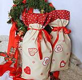 Úžitkový textil - Mikulášsky balíček - veľký - 5908054_