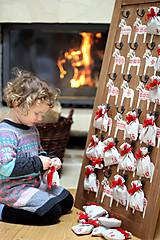 Nábytok - Adventný kalendár DALA RED 2015 - 5910709_
