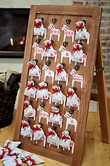 Nábytok - Adventný kalendár DALA RED 2015 - 5910712_