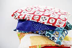 Úžitkový textil - Nezábudka: Pohánkový nahrievací vankúšik - 5907393_