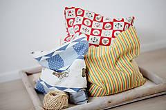 Úžitkový textil - Nezábudka: Pohánkový nahrievací vankúšik - 5907394_