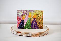 """- Andreas: Vianočná pohľadnica """"Traja králi"""" - 5907675_"""