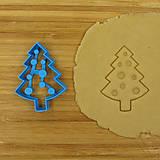 vykrajovačka vianočný stromček