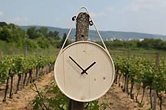 Hodiny - Marc Drop Clock - drevené nástenné hodiny - 5908137_