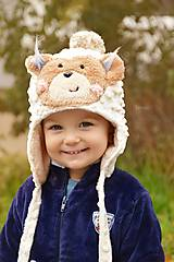 zimná čiapka Teddy Bear
