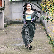 Šaty - Origo šaty ingk puff maxi - 5909843_