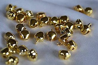 Galantéria - ❄️Rolničky zlaté, z 0.50 na 0.25€/10ks - 5908667_