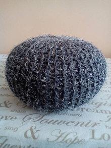 Úžitkový textil - Tmavosivý chlpáč - 5909894_