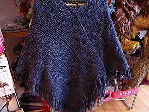 Iné oblečenie - pončo NAVY - 5911573_
