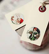 Papiernictvo - Visačky na darčeky *1 - 5912848_
