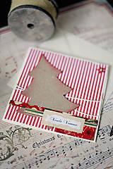 Papiernictvo - Vianočná pohľadnica *8 - 5913004_