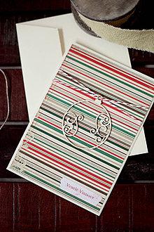 Papiernictvo - Vianočná pohľadnica *3 - 5912794_