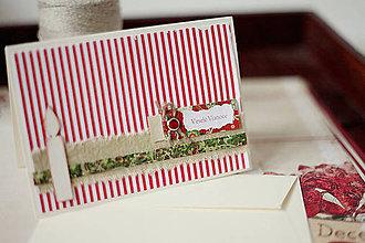 Papiernictvo - Vianočná pohľadnica *5 - 5912837_