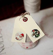 Papiernictvo - Visačky na darčeky *1 - 5912846_